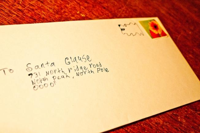 Luken's 2nd letter to Santa
