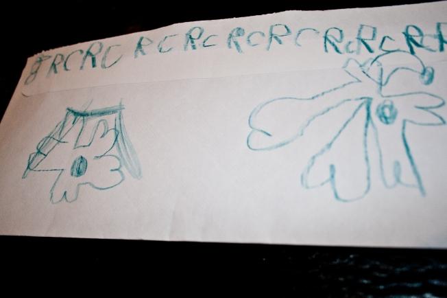 Ryan's letter to Santa