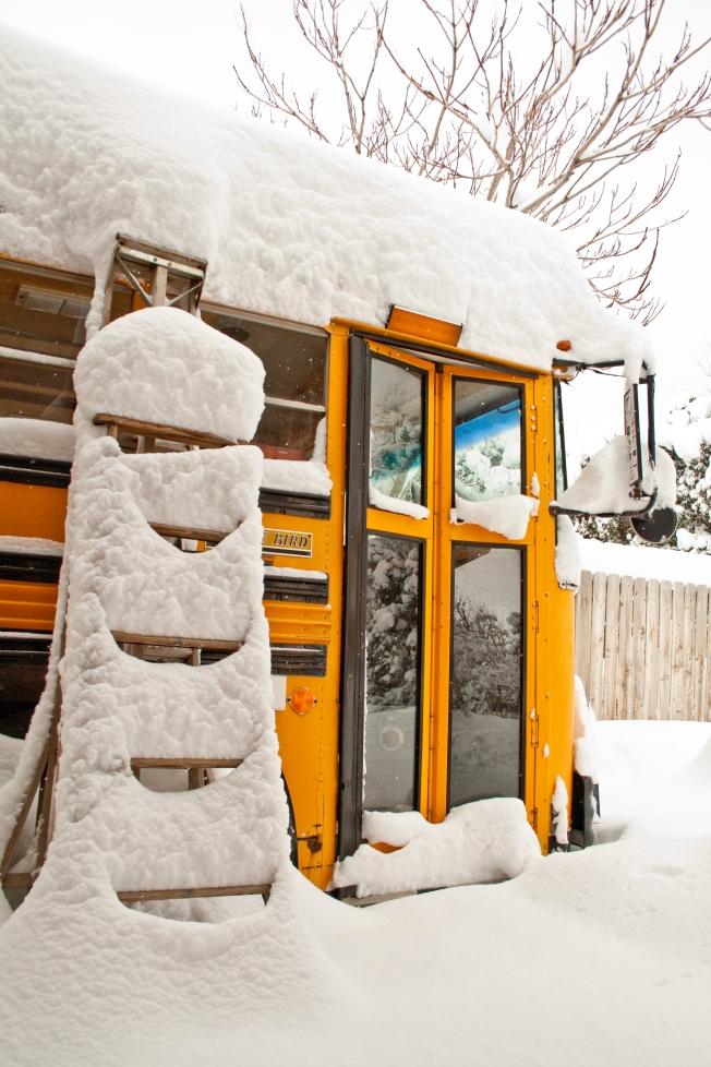 Liahona in snow