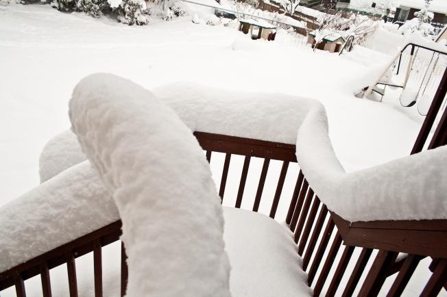Snow Stairs