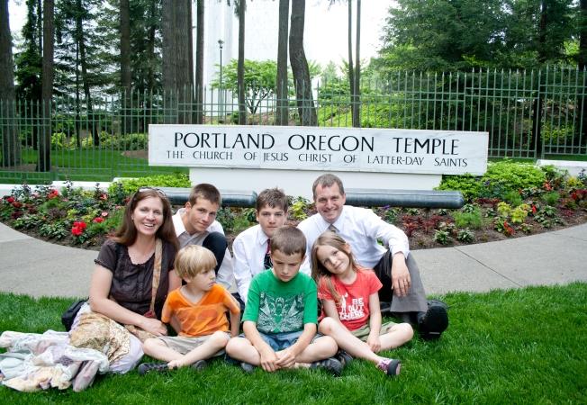 140 Portland Temple