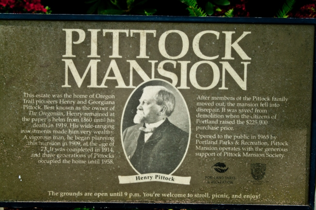 167 Pittock Mansion