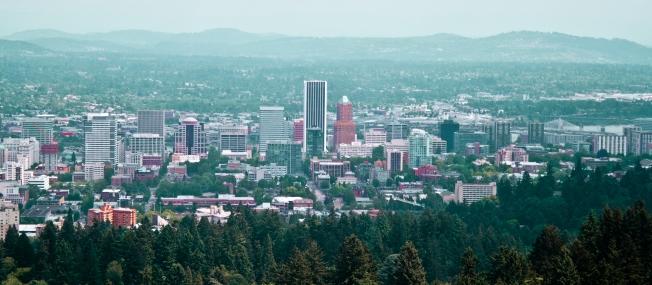 171 Portland cityscape