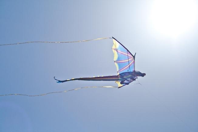 350A Dragon Kite Glass Beach