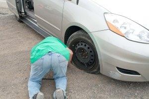 5 Hagerman Detour Flat Tire