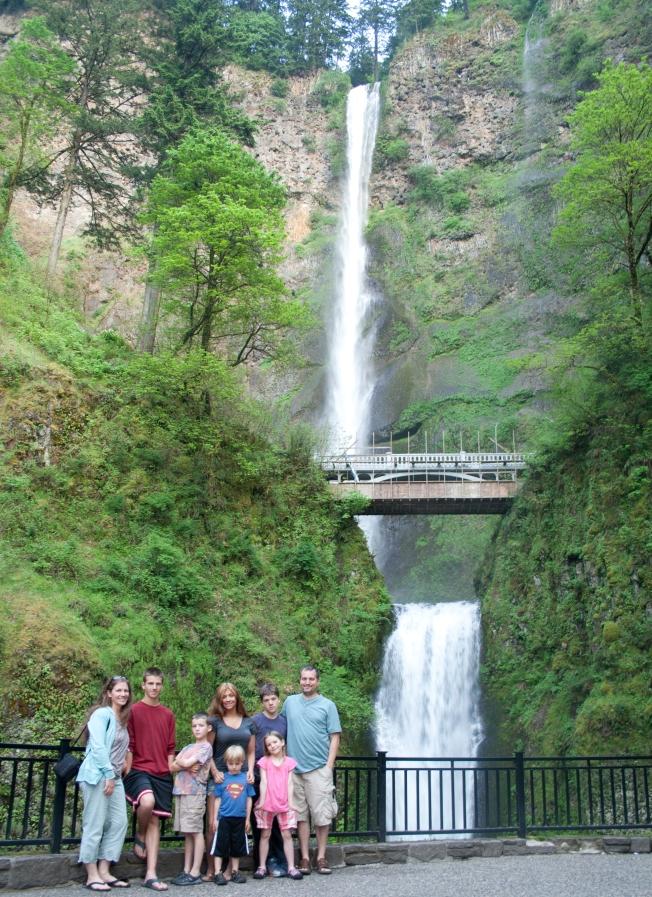 92 Multnomah Falls