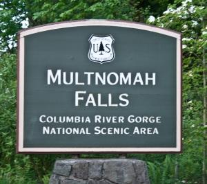 96 Multnomah Falls